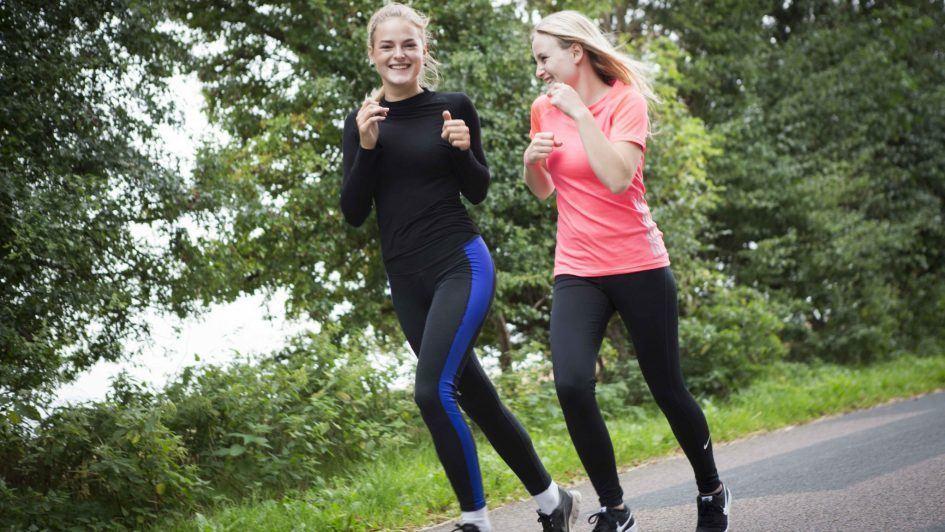 Motion og løb for eleverne