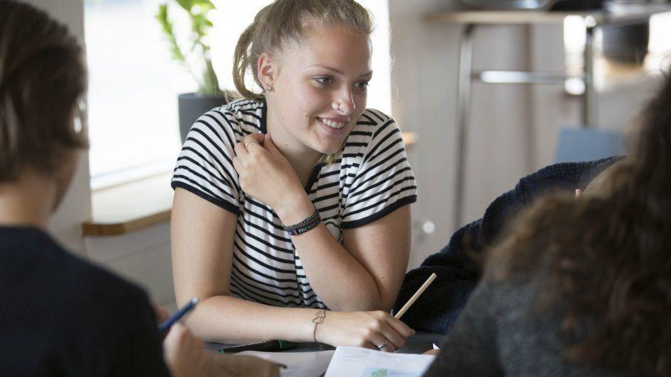 Lektielæsning med eleverne